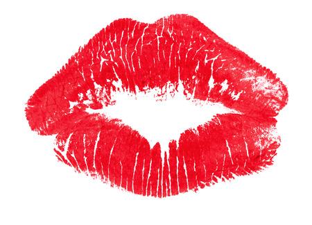 Lipstick mark