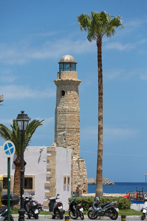 Rethymnon, Crete, view of the old lighthouse
