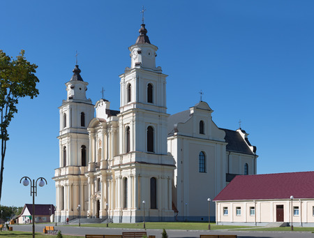 Church Assumption of the Blessed Virgin Mary in Budslav, Belarus