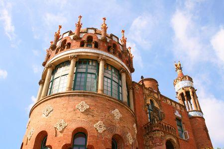 barsa: Hospital Sant Pau in Barcelona - Spain
