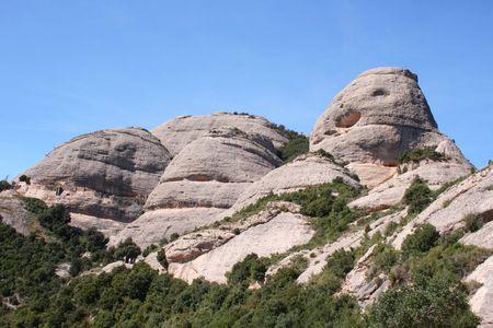 Montserrat mountain photo