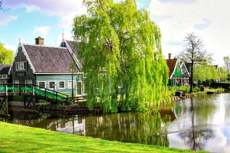 zaanse: Zaanse Schans in Nederland