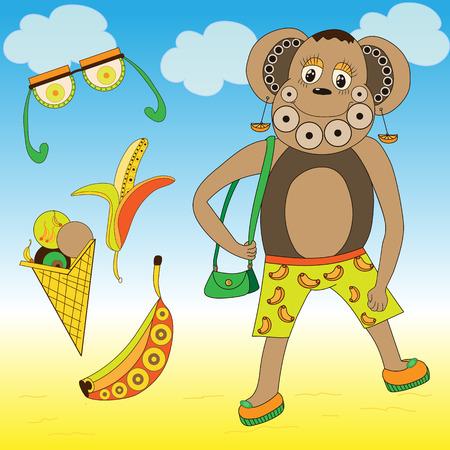 arts: monkey, design, arts, fun