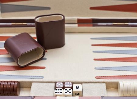 Backgammon board game set