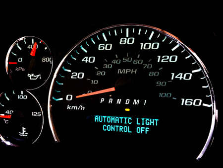 Automatic light control off warning light on dashboard photo