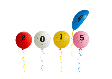 0 1 years: 2015 Balloons
