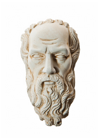 Head of Zeus sculpture photo