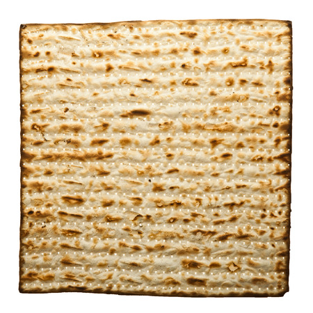 Matzot isolated on white  photo