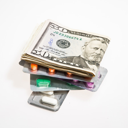 expensive: Dollar Currency and Pills