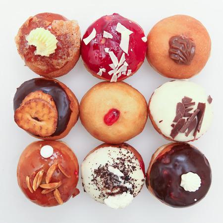 Hanukkah donut Banco de Imagens - 34663601