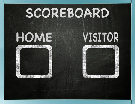 tally: Home and visitor scoreboard