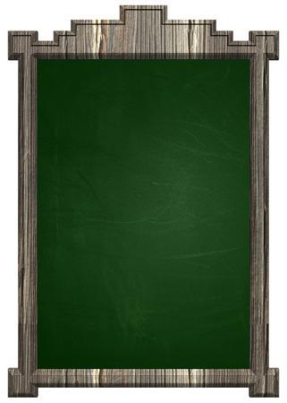 green chalkboard: Green chalkboard with wooden frame