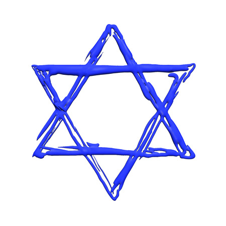jews: Star of David illustration
