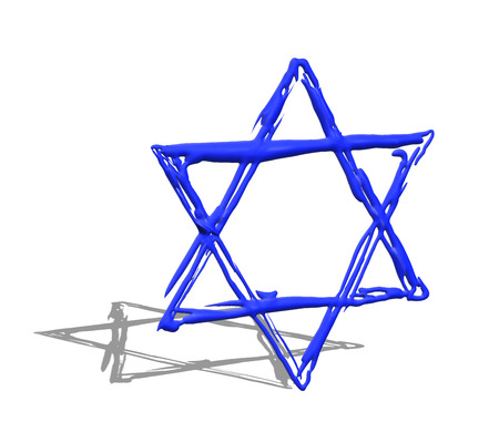magen david: Star of David illustration