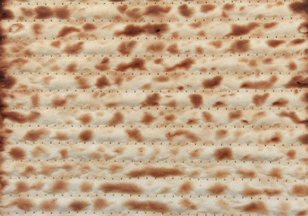 matzos: Traditional Jewish holiday food - Passover matzo background Stock Photo
