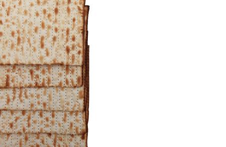 holiday food: Traditional Jewish holiday food - Passover matzo