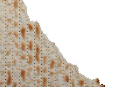 jewish background: Traditional Jewish holiday food - Passover matzo