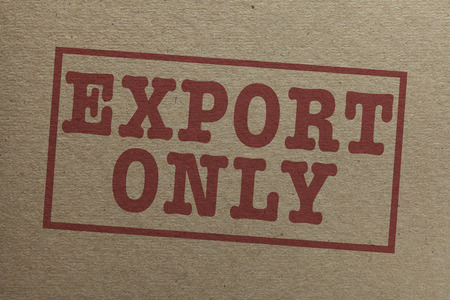 cardboard only: Cardboard texture with Export only icon
