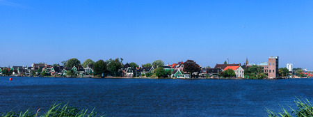 zaanse: Panoramic view of the town of Zaanse Schans