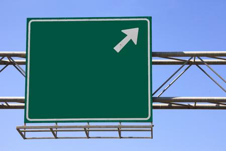 Segno verde autostrada Archivio Fotografico - 47073183