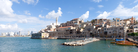 jaffa: View of the old port of Jaffa