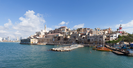 yaffo: View of the old port of Jaffa