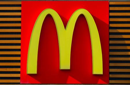 mcdonalds: Classic McDonalds sign