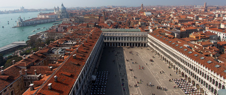 saint mark's square: Saint Marks square in Venice, Italy. Editorial