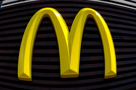 macdonald: McDonalds logo, McDonalds is the worlds largest chain of hamburger fast food restaurants, serving around 68 million customers daily in 119 countries
