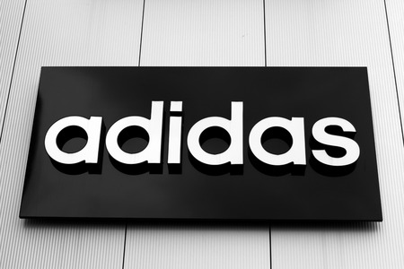 adidas: Adidas sign and logo Editorial