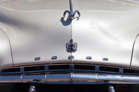 dodge: Vintage Dodge car front