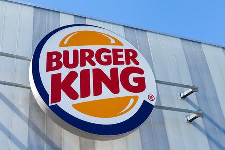 restuarant: Burger King restuarant sign