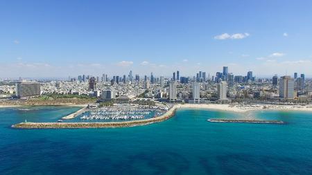 Tel Aviv orizzonte Archivio Fotografico - 65081137