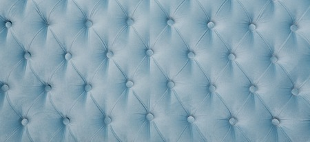 button tufted: Blue button tufted leather background. Illustration. Luxury classic leather texture with blue color.