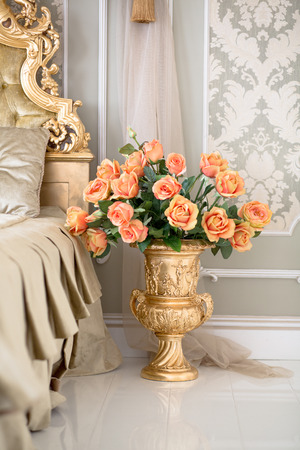 Flowers in royal apartments