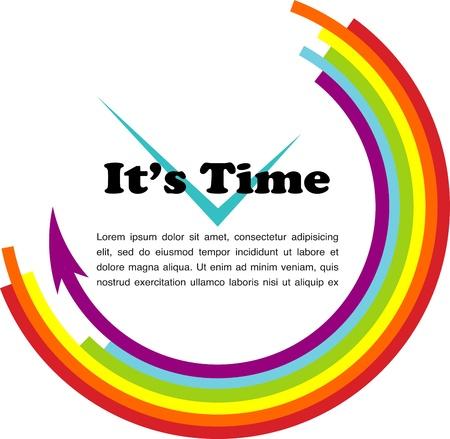 それ s 時間、ゲイ図あなたのテキストのための場所で