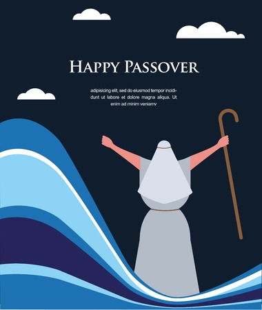 passover: Let my people go-The Escape from Egypt  illustration Illustration
