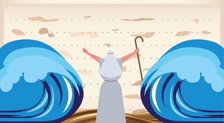 Deja ir a mi pueblo-El Escape de Egipto Vectores