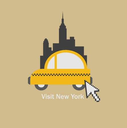 new york taxi: Visit New York city and choose  a taxi