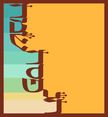 passover: abstract greeting card for jewish  holiday Passover. happy passover in hebrew