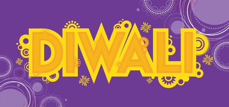deepawali backdrop: Diwali colourful card decorative background Vector illustration Illustration