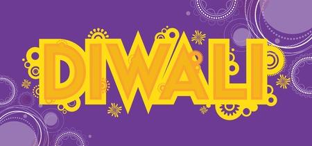 deepawali backdrop: Diwali colourful card decorative background Vector illustration Illustration