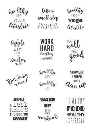 healthy sport: sport and healthy lifestyle motivation quotes