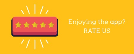 Hand press the star button. Customer review concept. Rating golden stars. 向量圖像