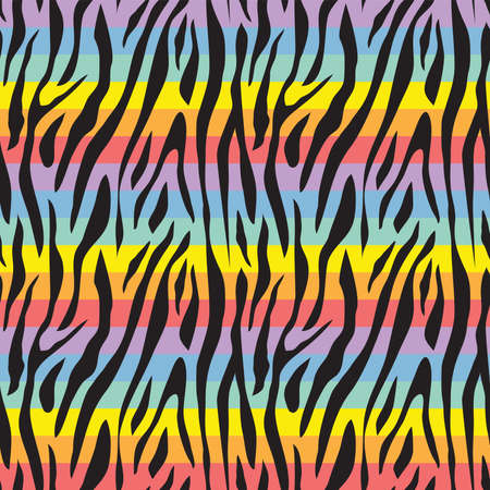 Seamless pattern with gay rainbow heart. LGBT pride symbol. Design element for fabric, banner, wallpaper or gift wrap.