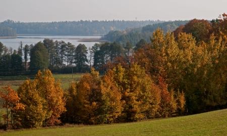 masuria: Atumnal lake  Masuria
