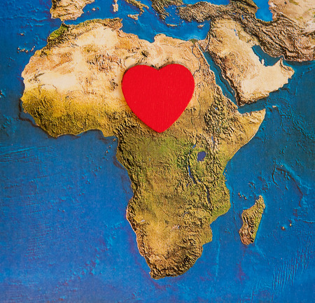 Love of Africa - Africa s heart photo