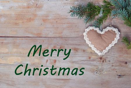 Merry Christmas eco greetings photo