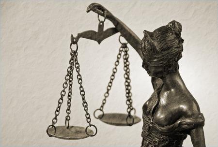 themis: Temida - Lady Justice - Themis retro sepia