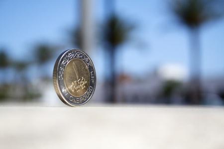 One Egyptian pound photo
